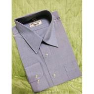 【大眼媽の挖寶舖】MANHATTAN 美好挺:男仕水藍色長袖襯衫