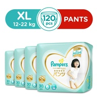 Pampers Premium Care Silky Pants Carton Size XL (30 x 4 Packs)