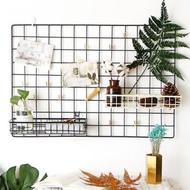 (Jtr) Hijang GRID wire WALL GRID Iron Photo Display Box