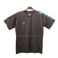 (B3) ASICS 亞瑟士 運動上衣 短袖T恤 台灣製 吸濕快乾 K12047-90 深灰 [陽光樂活