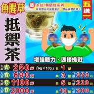 【魚腥草抵禦茶▶10入】買5送1║薄荷紫蘇 桔梗茶 ║非常時期 健康防護養身 花草茶包 沖泡茶飲