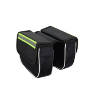 Frame Front Bag for Bicycle MTB Hybrid Road Bike Storage phone light velcro