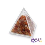 【鑫運來】紅玉髓金字塔擺件(能量超強 3cm)