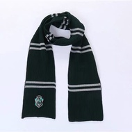 【現貨】哈利波特spao聯名合作同款圍巾環球影城冬季刺繡男女情侶保暖圍巾