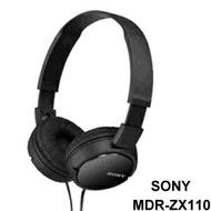 SONY MDR-ZX110 耳罩式耳機【Sound Amazing】