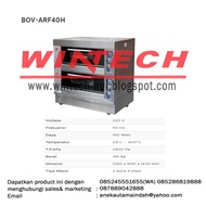 Fomac Gas Baking Oven Bov ✨ -@ Arf40h (gas Bread Oven)
