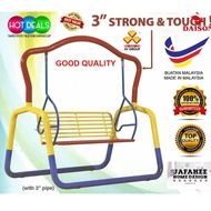 JHD 3V XXL SIZE Metal Solid Garden Swing / Metal Swing / Children Playground / Indoor Swing / Outdoor Swing
