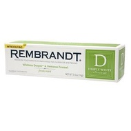 美國 Rembrandt 林布蘭潔白牙膏/美白牙膏/牙膏((現貨))