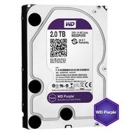【WD 威騰】紫標 2TB 監控專用 3.5吋 SATA硬碟(WD20PURZ)
