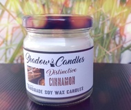 Soy Wax Candle with Cinnamon Aroma Oil