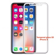 tib JDO ฟิลม์ 5D iphone X Tempered Glass Film Protector Case For apple iphone X white