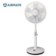 AIRMATE艾美特 14吋DC直流馬達專利APP遙控立地電扇FS35001RP廠商直送