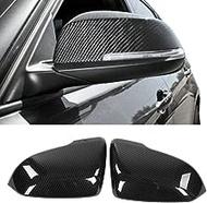 FidgetGear カーボンファイバーABSサイドミラーキャップ(BMW F30 F33 F32 F22 F20用)1 2 3 4シリーズX1