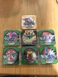 Pokemon Tretta U1 Full Set Ultimate Rayquaza Legend Zygarde Master Dialga Palkia Giratina Garchomp Pancham