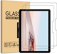 (2 Packs) PULEN for Surface Go 2 Screen Protector,9H Hardness Easy Installation Anti-Fingerprints Anti-Scratch No Bubble Tempered Glass for Microsoft Surface Go 2 2020 (10 Inch)