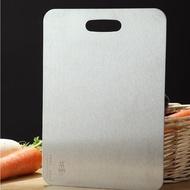 【PUSH!】廚房用品2MM厚304不鏽鋼廚房砧板切菜板烘焙揉麵板(D164)