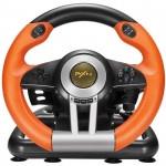 萊仕達 PXN V3賽車遊戲方向盤 | 賽車軚盤 | 兼容PC/PS3/4/xbox one/switch主機 - 橙色