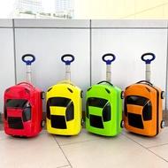 กระเป๋าเดินทางเด็ก กระเป๋าเดินทางรูปรถ ขนาด 18 นิ้ว