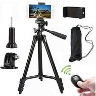 相機三腳架 運動相機手機單反3120三腳架 便捷式攝像直播自拍支架 概念3C