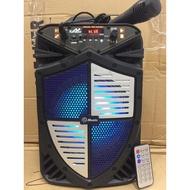 Bluetooth headset TTD-5802 Super Bass 8 inch Karaoke Speaker  w/ FREE MIC