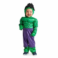Marvel Hulk Costume for Baby Green