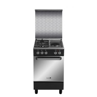 Fujidenzo 50 cm Cooking Range, 2 Gas + 1 Electric, Gas Oven
