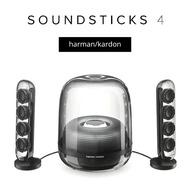 Harman Kardon SoundSticks 4 水晶喇叭 第四代 100W 藍芽喇叭 家庭劇院 電腦音響