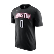 NIKE【BQ1534-018】短袖 T恤 NBA火箭隊 WESTBROOK 0號 黑色