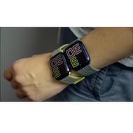 hot สายApplewatch sport loop สายผ้าไนลอน สายApplewatch  watch 1/2/3/4/5 ลิ้งค์1 38mm 40mm 42mm 44mm
