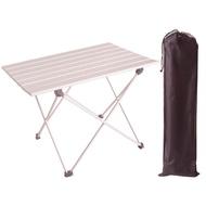 超輕航空鋁合金折疊桌(大桌面蛋捲桌)