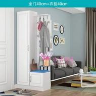 玄關櫃 門廳櫃鞋櫃裝飾櫃玄關櫃隔斷雙面衣帽櫃現代簡約掛衣架屏風櫃T 3色