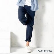 【NAUTICA】涼感可拆式兩穿休閒長褲(深藍)