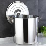 商用不銹鋼桶帶蓋不銹鋼湯桶加厚加深大湯鍋大容量儲水 YC410