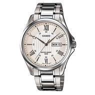 CASIO นาฬิกาข้อมือผู้ชาย สายสแตนเลส รุ่น MTP-1384D-7AVDF