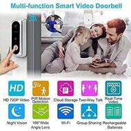 Video Doorbell WONGKUO Wireless Video Doorbell Camera HD 166° Security Smart WiFi Doorbells with Indoor Chime