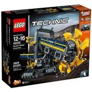 【益智天堂】 免運 LEGO 樂高 42055 巨型滾輪挖土機