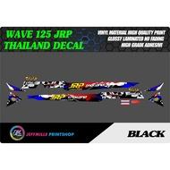 Honda Wave 125 Jrp Thailand Sticker Decal
