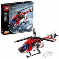 LEGO 樂高  Technic Rescue Helicopter 42092 Building Kit , New 2019(325 Piece)