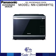 PANASONIC 32L PURE STEAM CONVECTION MICROWAVE OVEN * NN-CS894BYTQ * LOCAL WARRANTY * FREE DELIVERY