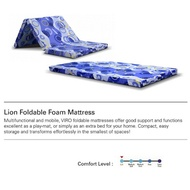 VIRO SINGLE LION FOAM FOLDABLE MATTRESS | FREE DELIVERY