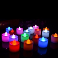 Light + COD LED Flameless Candle Party Flickering Tealight Deor