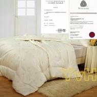 =YvH=單人被胎 Quilt 日本西崎天然純羊毛被胎 100%wool 紐西蘭羊毛 4.5x6.5尺 純棉表布