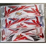 HONDA WAVE DASH 110 RS ( 1 ) Body Cover Set Stripe Sticker - Blue / Red / Purple