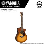Authorized Dealer - Yamaha FSX800C Electric Acoustic Guitar (Natural) - Absolute Piano - The Music Works Store GA1
