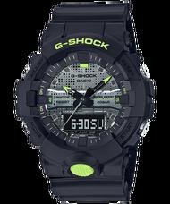 CASIO G-SHOCK GA-800DC-1A 數位點陣迷彩錶款
