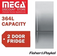 FISHER AND PAYKEL E402BRXFD4 364L 2 DOOR  FRIDGE / LOCAL WARRANTY