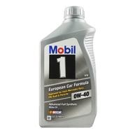 美孚 Mobil 1 European Car Formul 0W40 全合成 機油 郊油趣