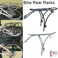 20 Inch Bike Rear Racks Aluminum Alloy Rear Shelf for Folding Bike Bicycle Cycling