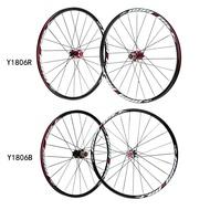 26'' 24H Disc Brake Bike Wheel Mountain Bicycle MTB Bike Wheelset Hubs Rim Front Rear