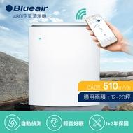 【瑞典Blueair】空氣清淨機經典i系列 抗PM2.5過敏原 480i (12坪)(內附SmokeStop活性碳濾網)